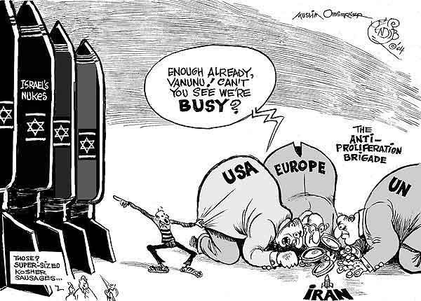 israel-nuclear v iran cartoon1