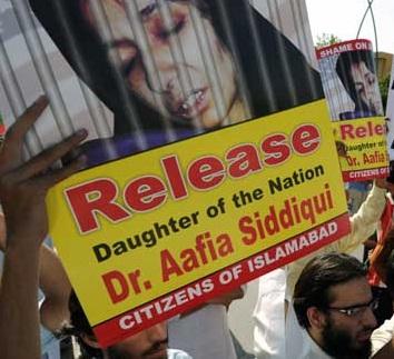 Dr Aafia Siddiqui