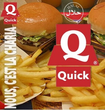 France - Quick fast food chain trials Halal burgers