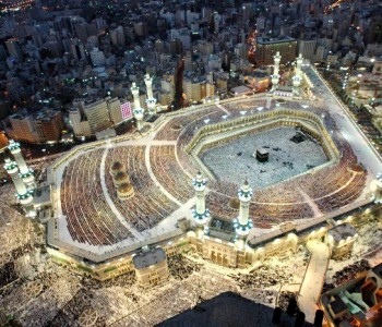 The focus is on the Ka'ba this month