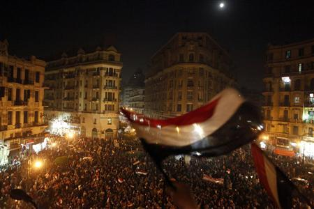 A new wave front sweeping Egypt