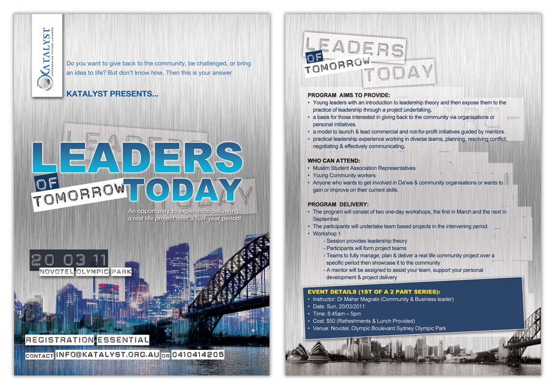 Leaders of Tomorrow Today - 2011 (Email)
