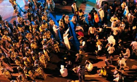 Youth take to the streets in protest of King Abdullah's rule