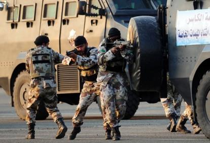 Saudi troops on high alert