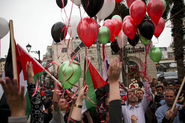 Palestine - Fatah Hamas unity celebrations