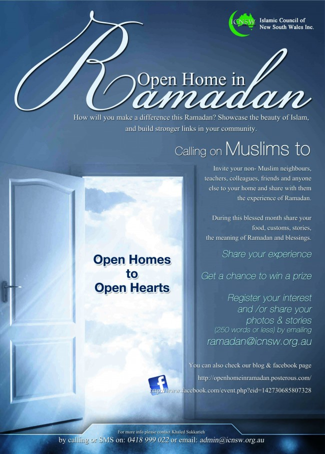 ICNSW Ramadan Open Home 2011