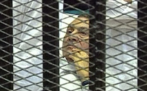 Mubarak in court jail