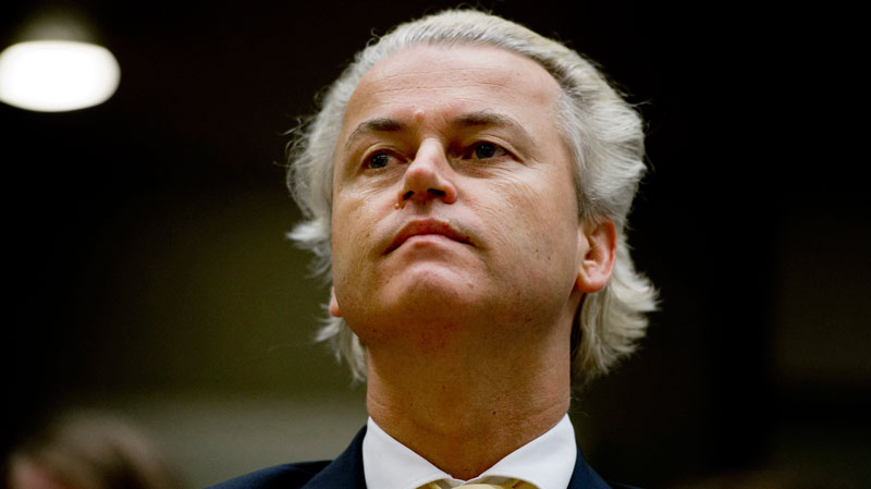 Wilders compared Islam to fascism, warning of what he said the spread of Islam in Australia