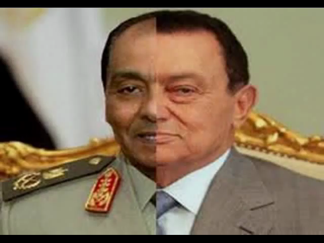 The head of the Egyptian Military Tantawi has become the new Mubarak