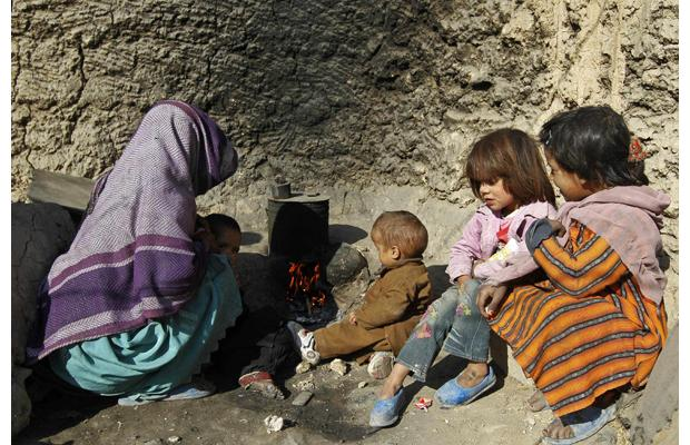 Afghan poverty