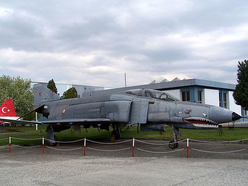 F-4E Phantom in Istanbul Aviation Museum
