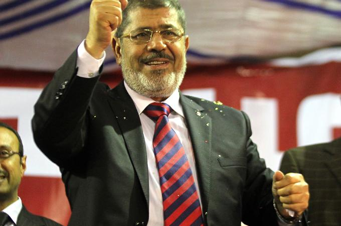 Egyptian Presidential hopeful Mohammed Morsy  campaign