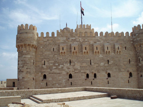 Fort in Alexandria, Egypt