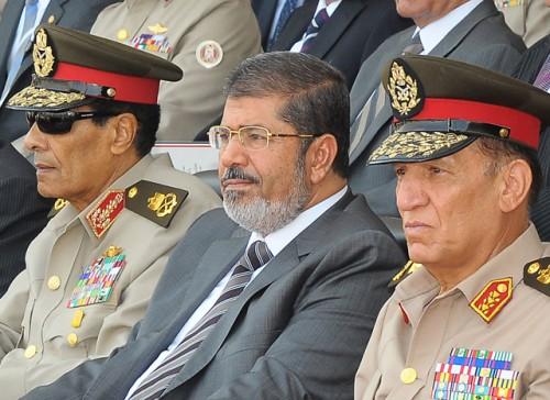 Morsi + Tantawi