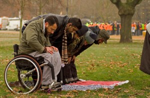 praying-wheelchair By Vince Millett Creative Commons