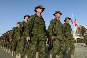 Canadian troops NATO by MATEUS_27:24&25