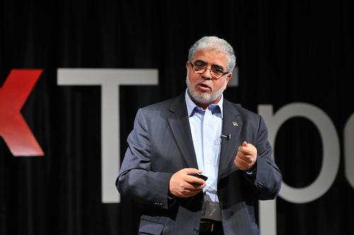 Mustafa Abushagur by TEDxTripoli / Creative Commons