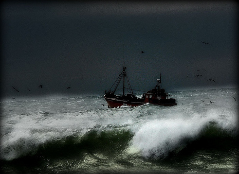 boat storm by anguila40 / Creative Commons