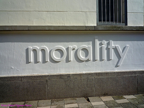 morality by dietmut / Creative Commons
