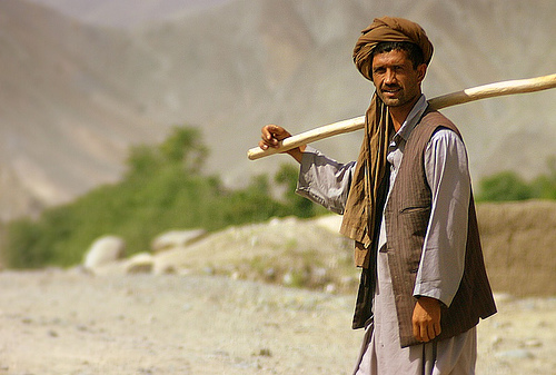 Afghan Man by J McDowell / Creative Commons
