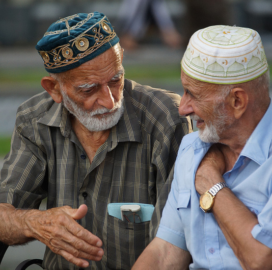 Muslim brothers by CharlesFred / Creative Commons