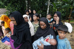 Arakanese refugee camp by IHH Humanitarian Relief Foundation / Creative Commons