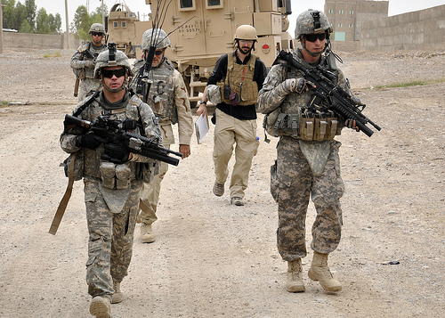 US SOLDIERS KANDAHAR PROVINCE, Afghanistan by isafmedia / Creative Commons