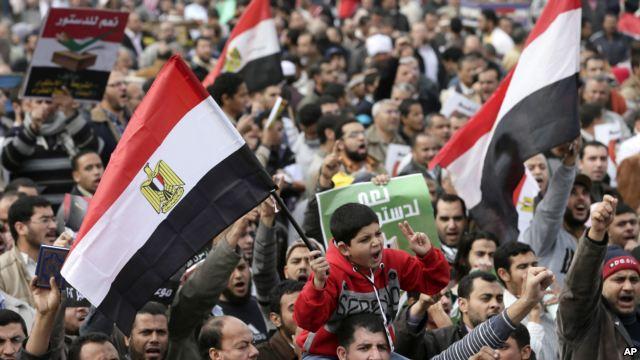Rivals clash ahead of Egypt Constitution Vote