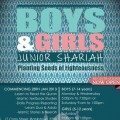 Boys and girls junior shariah