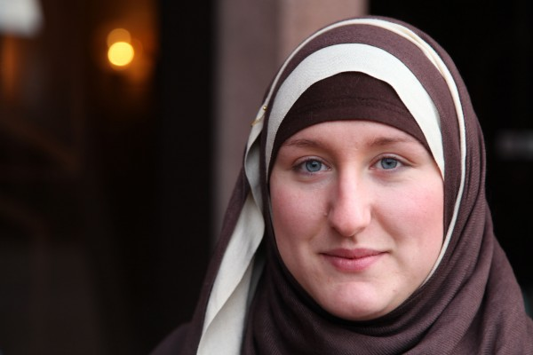 "Alana from ""Make me a Muslim"". Source: Emily Hughes, BBC"