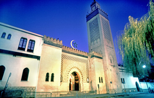Great Mosque, Paris / Source: www.flickr.com