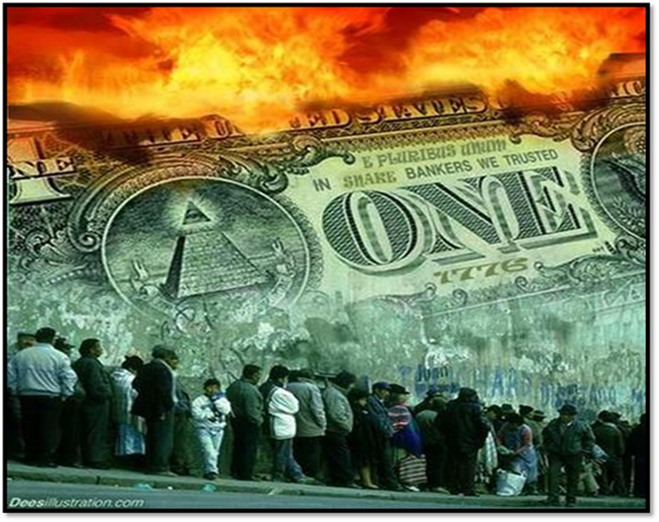 On July 1, 2014 the U.S. Dollar Will Officially Collapse; because, on