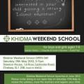 Khidma Weekend School (KWS)