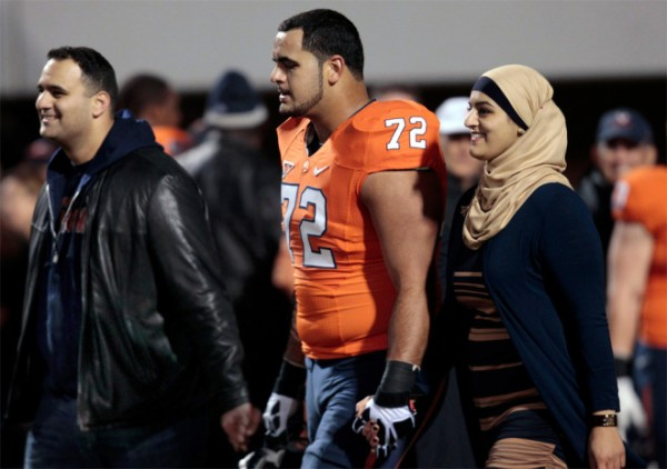 Palestinian-American Oday Aboushi drafted to the New York Jets