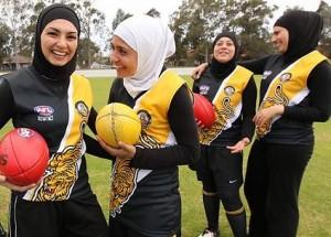 muslim-afl-women / Source: www.theaustralian.com.au