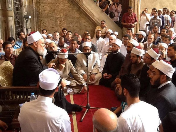 Sufis thrive in Egypt despite radicals