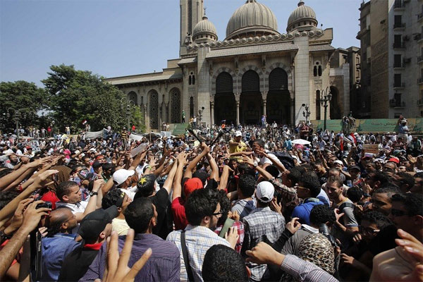 Egyptian authorities close 55,000 mosques