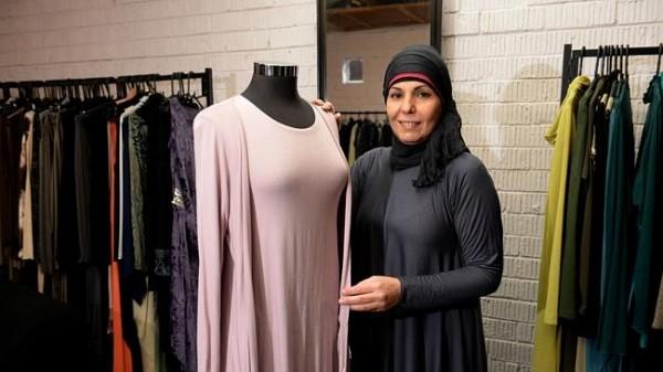 Muslim women's fashion exhibition