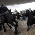 Ultra-Orthodox Jews protest pending Israeli draft
