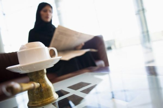 SaudiWoman-coffee