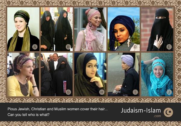 hijab-judaism-islam