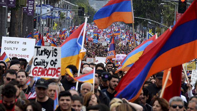 Armenian genocide 130K march in LA to mark 100th anniversary (PHOTO, VIDEO)