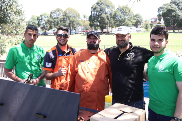Human Appeal Australia Fund Day at the Australian National Sports Club in Parry Park for the support of Bankstown Lidcombe Hospital