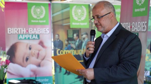 Mr Bashar Al Jamal the director of the Human Appeal Australia
